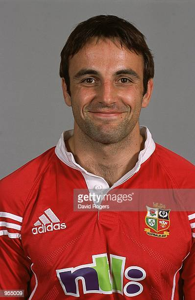 Portrait of Danny Grewcock of the British and Irish Lions for the tour to Australia at a photo call in Basingstoke, England. \ Mandatory Credit: Dave...