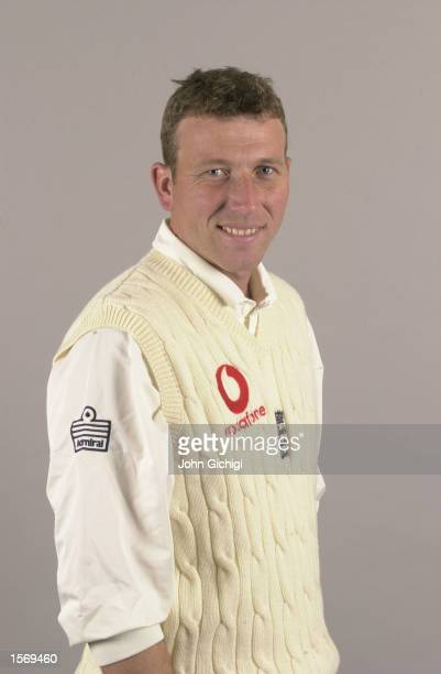 Portrait of Michael Atherton of the England Cricket Team Lords Cricket Ground London England DIGITAL IMAGE Mandatory Credit John Gichigi / Allsport