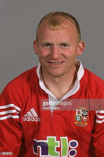 Portrait of Neil Jenkins of the British and Irish Lions for the tour to Australia at a photo call in Basingstoke, England. \ Mandatory Credit: Dave...