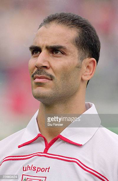 Portrait of Sami Trabelsi of Tunisia before the CAF 2nd Round Group D World Cup Qualifier against the Ivory Coast at the El Menzah Stadium in Tunis...