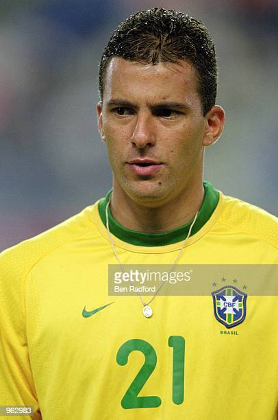 Portrait of Washington of Brazil during the FIFA Confederations Cup match against Cameroon played at the Kashima Soccer Stadium in Ibaraki Japan...