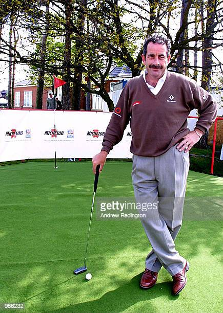 Sam Torrance launches the Michelob Putting Challenge at the B & H International Open. The Challenge offers golf fans the chance to recreate Sam's...