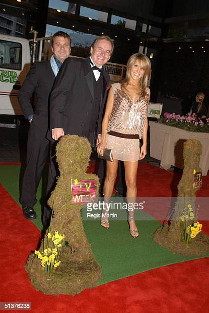 11 May 2003 X102 The GROUND FORCE team with MELANIE SYMONS arriving on the red carpet for the 45th annual TV Week Logie Awards 2003 held at the Crown...