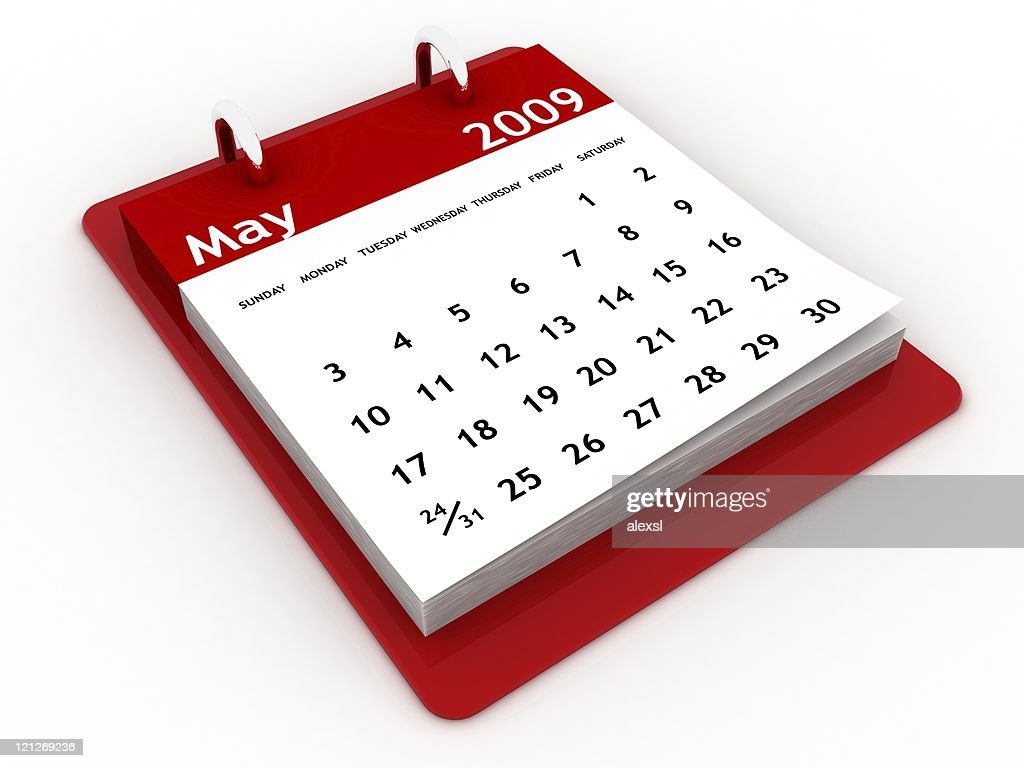 May 2009 Calendar Series Stock Photo Getty Images