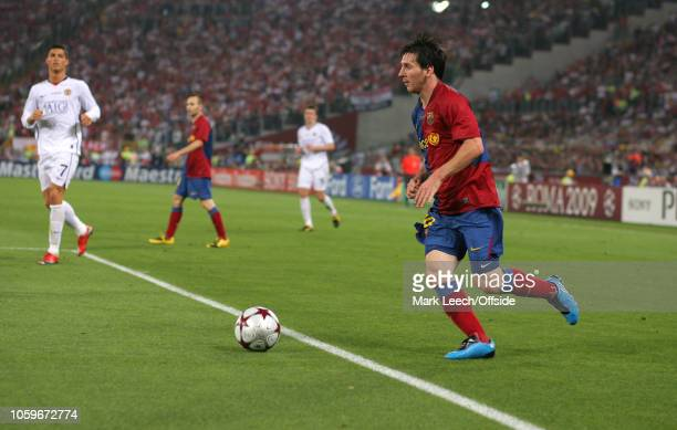 Barcelona Manchester United Rome Champions League Final Pictures And