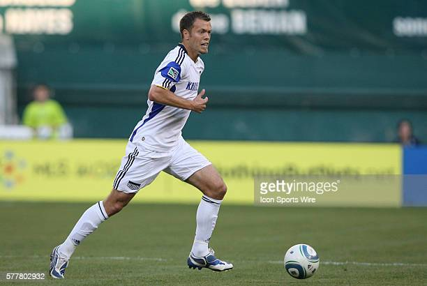 Kansas City's Jack Jewsbury DC United defeated the Kansas City Wizards 21 at RFK Stadium in Washington DC in a regular season Major League Soccer game