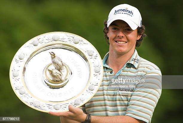 Rory Mcllroy during the Final Round of the Quail Hollow Championship at Quail Hollow Country Club in Charlotte, North Carolina on May 2, 2010.