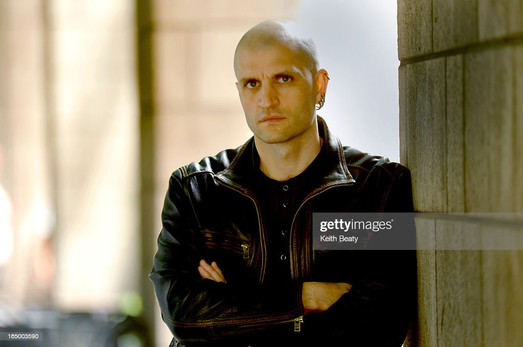 26 May 2011 For Geoff Pevere profile of UK science fiction novelist extraordinarie China Mieville Ph : News Photo