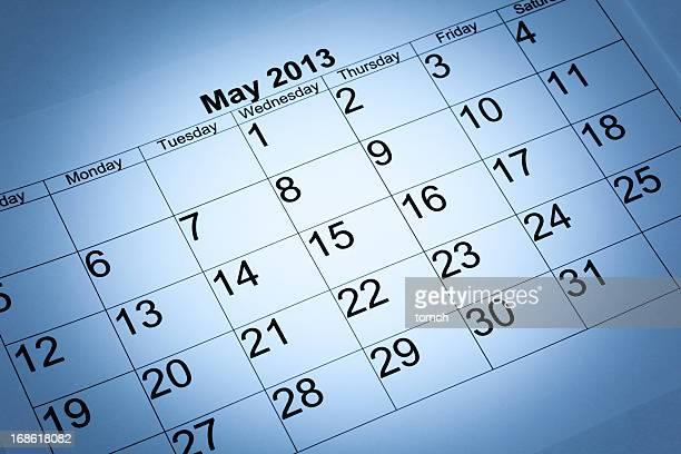Mai 2013-Kalender
