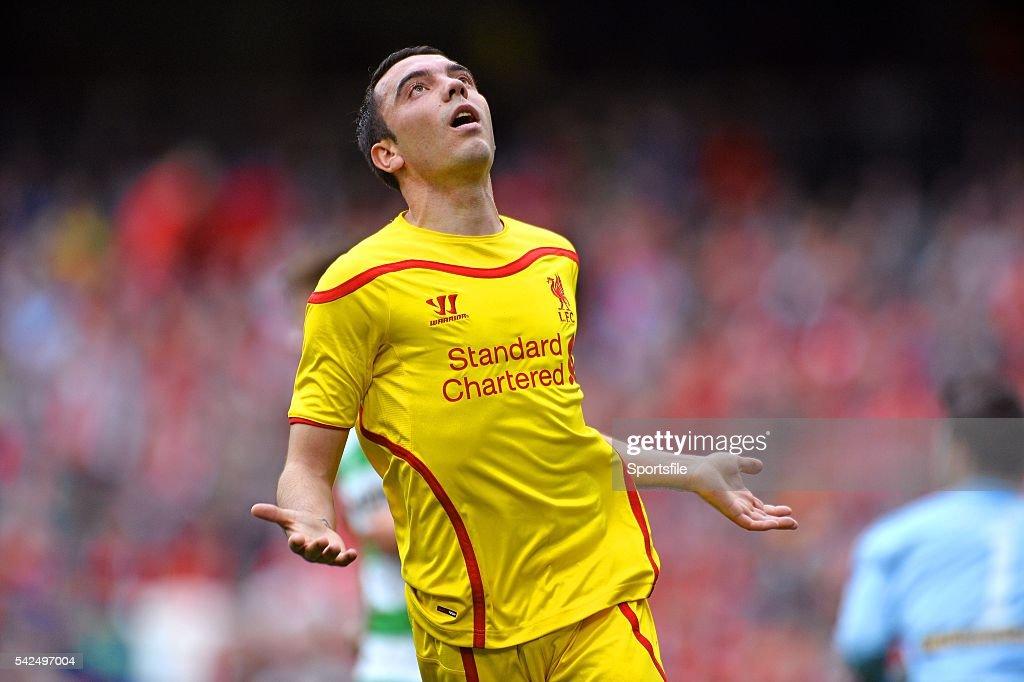 Shamrock Rovers v Liverpool XI - Friendly Match : News Photo