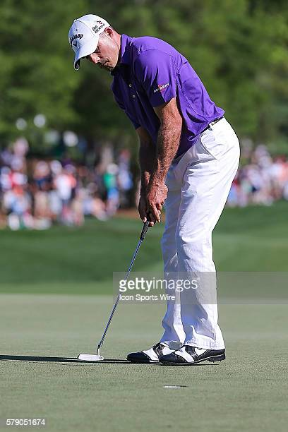 Jonathan Byrd during third round action at the the Wells Fargo Championship Tournament at Quail Hollow Country Club Charlotte North Carolina JBHolmes...