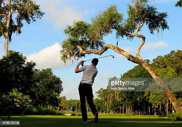 Martin Kaymer first round leader on the 6th tee box during the second round of the Players Championship at TPC Sawgrass in Ponte Vedra Beach Florida