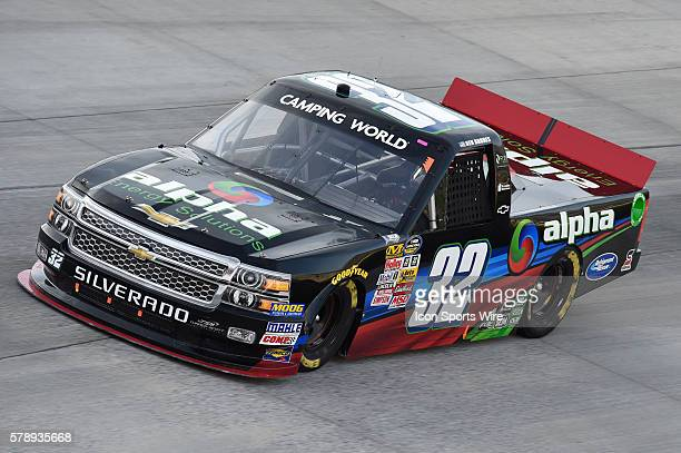 NASCAR Camping World Truck series driver Ben Rhodes during the Lucas Oil 200 at Dover International Speedway in Dover DE