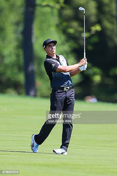 Rickie Fowler during third round action at the the Wells Fargo Championship Tournament at Quail Hollow Country Club Charlotte North Carolina JBHolmes...