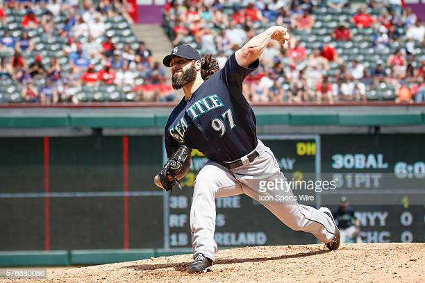 Seattle Mariners Pitcher Joe Beimel [2654] comes in and strikes out the only batter he faced during the MLB game between the Seattle Mariners and...