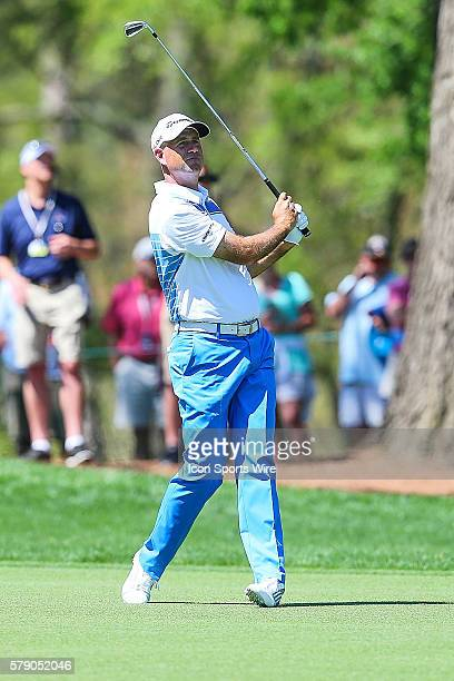 Stewart Cink during third round action at the the Wells Fargo Championship Tournament at Quail Hollow Country Club Charlotte North Carolina JBHolmes...