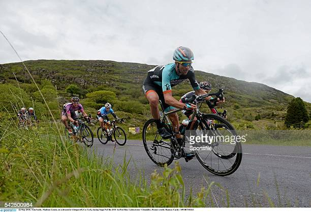 22 May 2014 Tom Scully Madison Gensis on a descent to Glengarriff Co Cork during Stage 5 of the 2014 An Post Rás Cahirciveen Clonakilty The An Post...