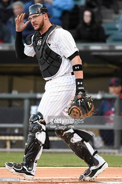Flowers white sox stock photos and pictures getty images chicago white sox catcher tyler flowers playing in a baseball game between the cleveland indians and mightylinksfo