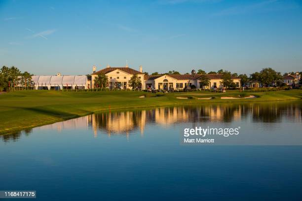 The Concession Golf Club in Bradenton, FL. The Stanford University Cardinal defeated the Baylor University Bears 3-2 in Match play at the NCAA...