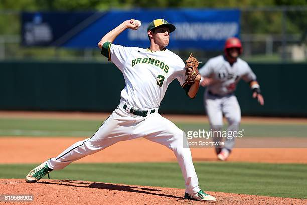 Cal Poly Pomona's Ryan Alsworth The Cal Poly Pomona Broncos played the Southern Indiana Eagles in Game 2 of the 2016 NCAA Division II College World...