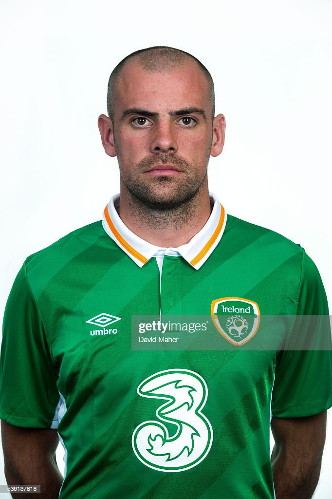 Republic of Ireland Squad Portraits : Foto jornalística
