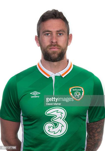 May 2016 Daryl Murphy of Republic of Ireland poses for a portrait at Castleknock Hotel in Dublin
