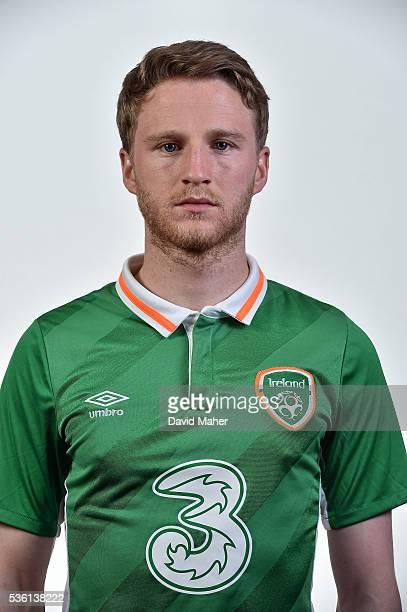 May 2016 Eunan O'Kane of Republic of Ireland poses for a portrait at Castleknock Hotel in Dublin