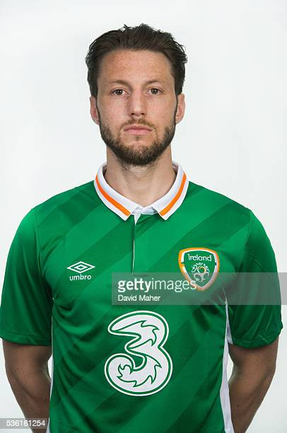 May 2016 Harry Arter of Republic of Ireland poses for a portrait at Castleknock Hotel in Dublin