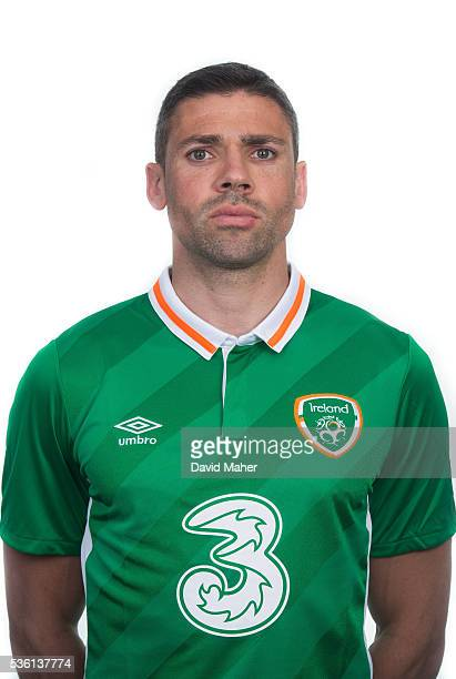 May 2016 Jonathan Walters of Republic of Ireland poses for a portrait at Castleknock Hotel in Dublin