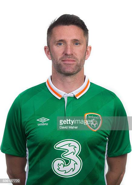 May 2016 Robbie Keane of Republic of Ireland poses for a portrait at Castleknock Hotel in Dublin