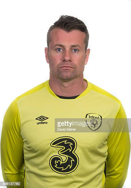 May 2016 Shay Given of Republic of Ireland poses for a portrait at Castleknock Hotel in Dublin