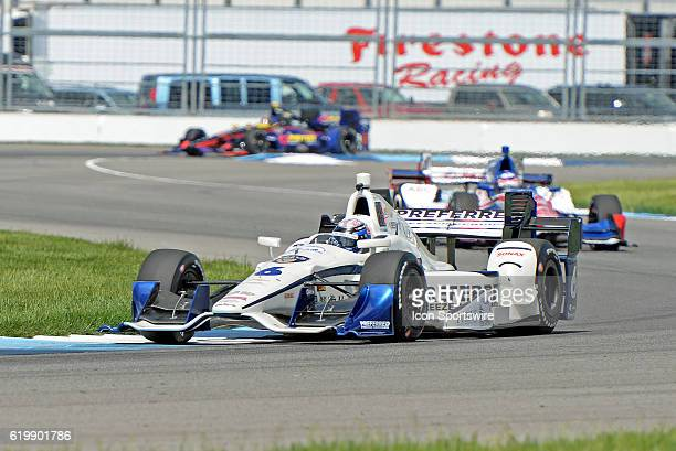13 May 2016 | The Preferred Freezer Fuzzy Vodka Chevrolet of JR Hildebrand during the practice session for the Angie's List Grand Prix of...