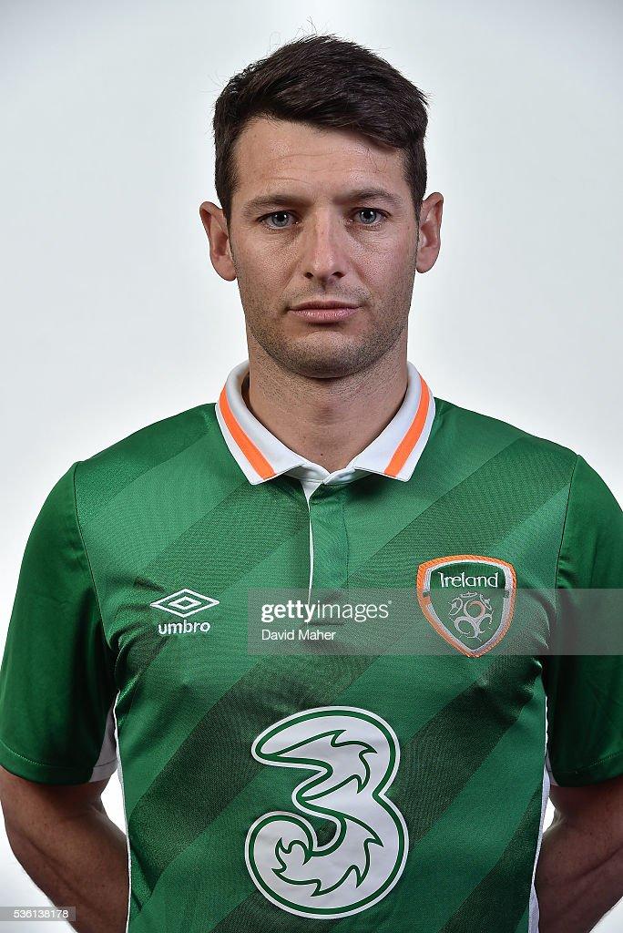 Republic of Ireland Squad Portraits : News Photo