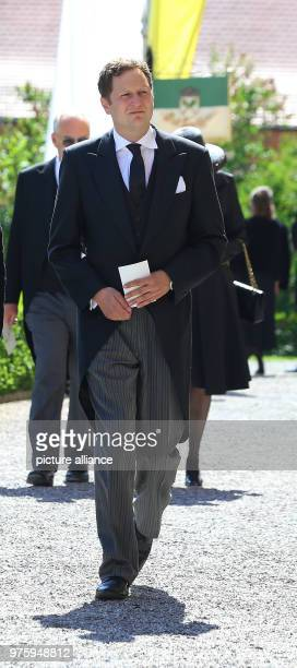 Prince Georg Friedrich of Prussia on his way to the church for the funeral Photo KarlJosef Hildenbrand/dpa