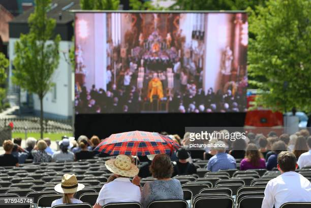 The funeral of Duke Friedrich of Wuerttemberg who died in a car accident is broadcast to the public According to a palace spokesperson 2000 mourners...