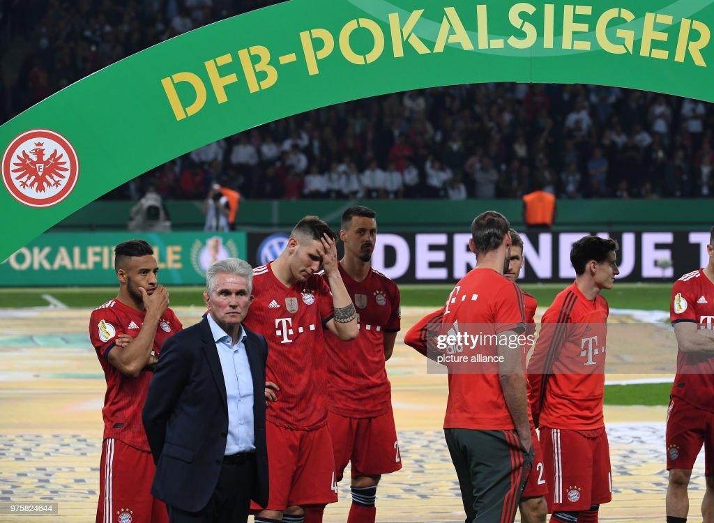 Football, German DFB Cup final, FC Bayern Munich vs ...