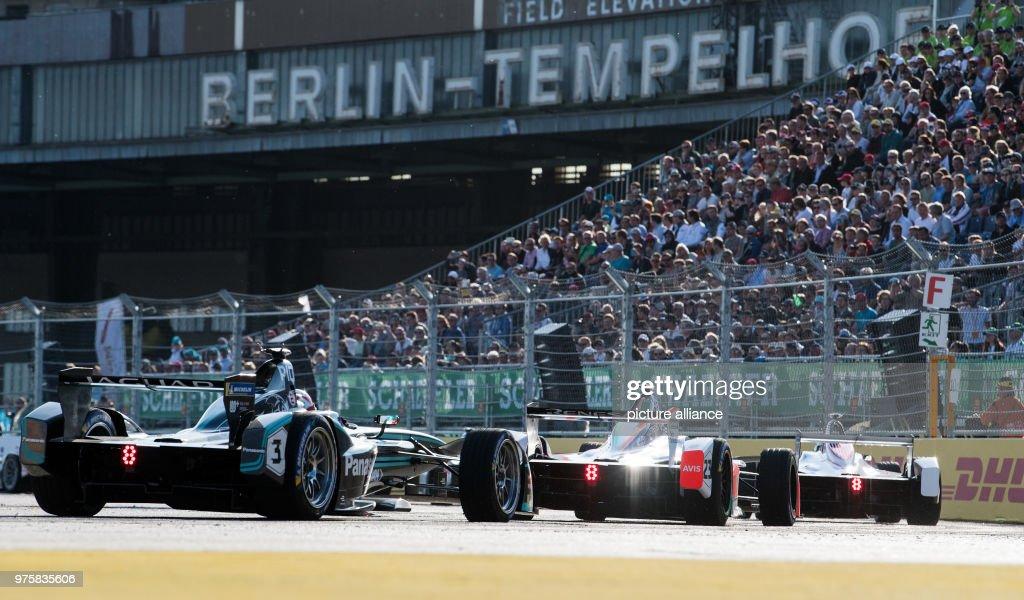 Formula E race in Berlin : ニュース写真