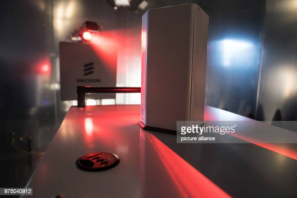measuring devices standing in the 5G high frequency measuring chamber of the Vodafone 5G Lab All devices capable of 5G are tested and certified for...