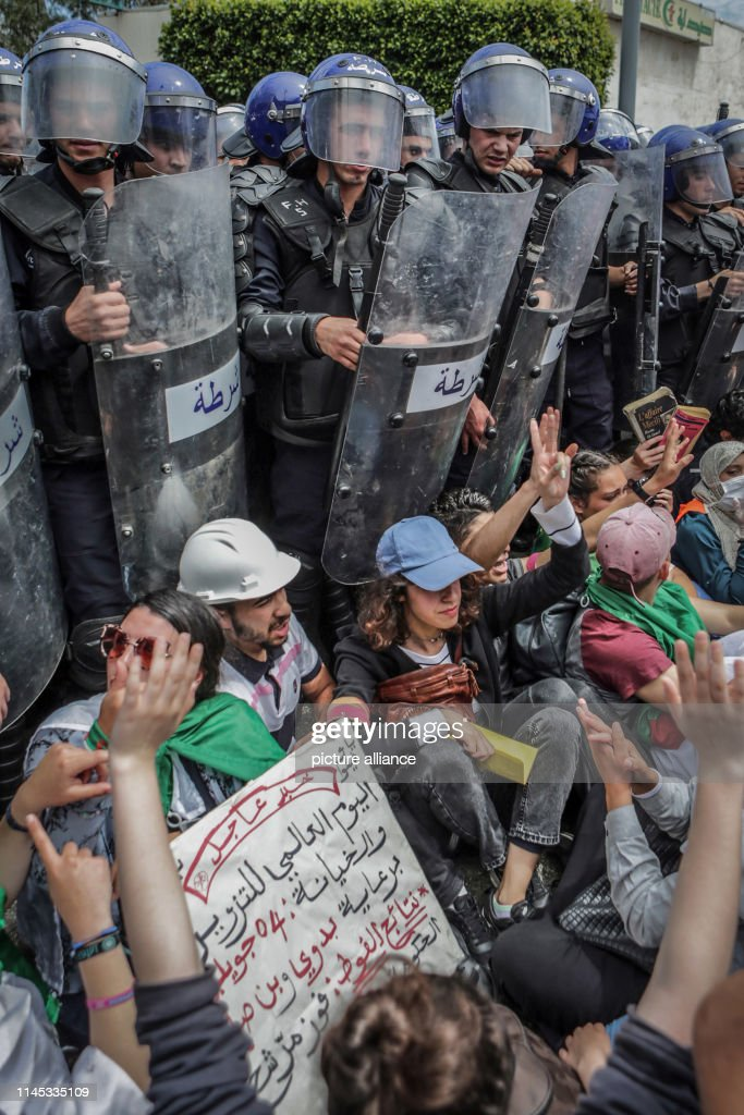DZA: Demonstrations In Algiers