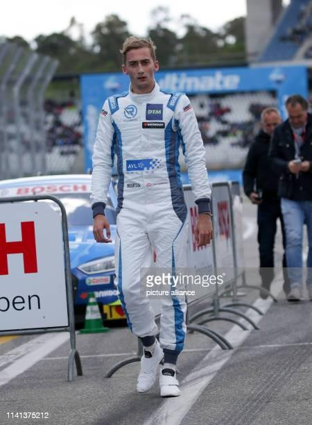 May 2019, Baden-Wuerttemberg, Hockenheim: Motorsport: German Touring Car Masters, Hockenheimring - 2nd race, Qualifying: Austrian Ferdinand von...