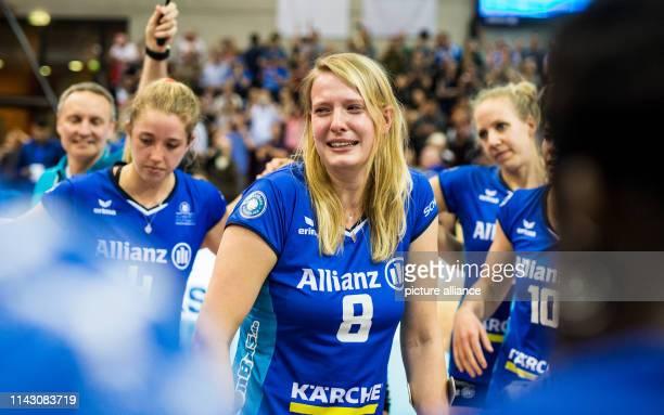 11 May 2019 BadenWuerttemberg Stuttgart Volleyball women Bundesliga MTV Stuttgart SSC Palmberg Schwerin championship round final 5th matchday...
