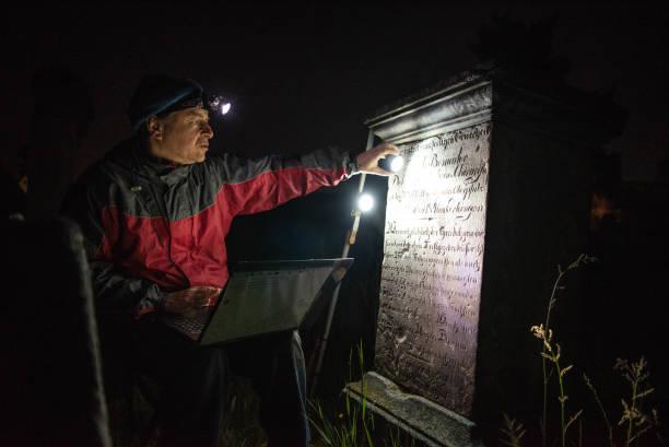 DEU: Tracing Jewish History At Night