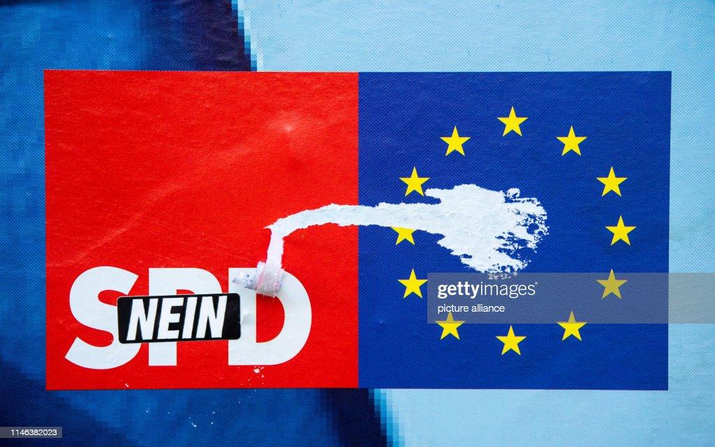 DEU: European Elections SPD