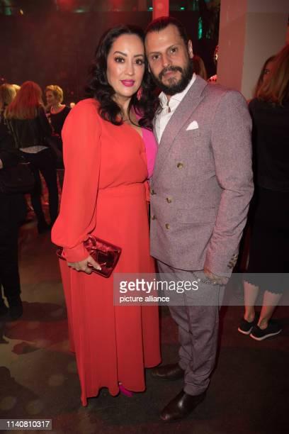 Actor Manuel Cortez and wife Miyabi Kawai attend the New Faces Award ceremony Photo Jörg Carstensen/dpa