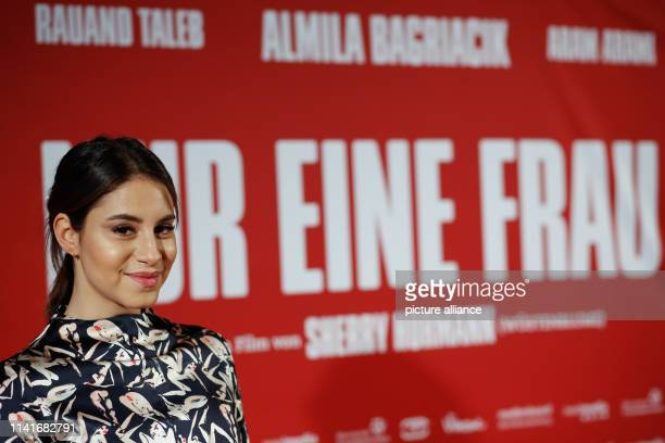 """Actress Almila Bagriacik comes to the premiere of """"Nur eine Frau"""" at Kino International. The film will be released on 9.5.2019. Photo: Gerald..."""