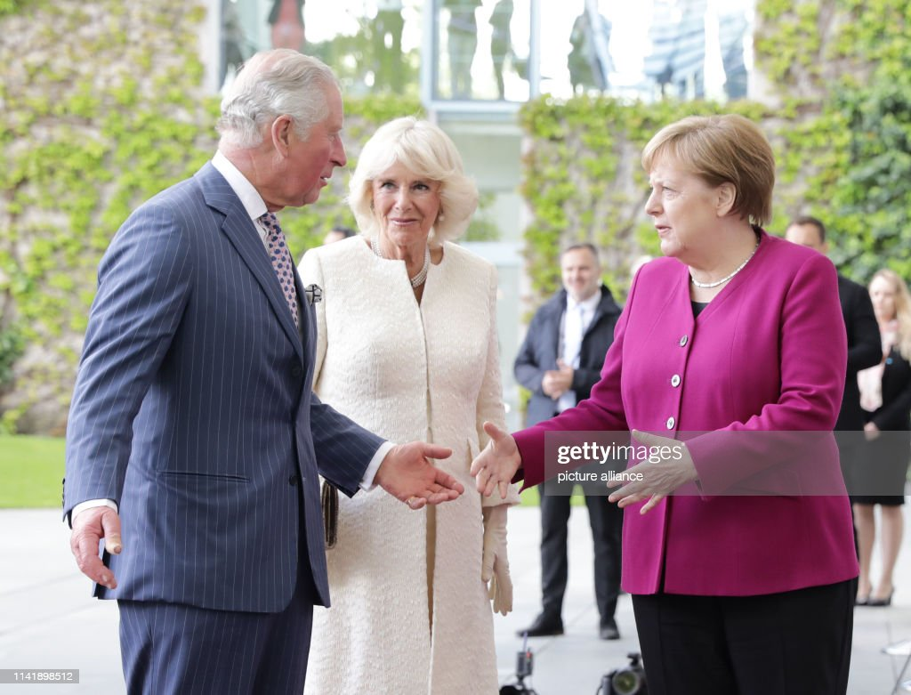 DEU: Prince Charles And Duchess Camilla In Berlin
