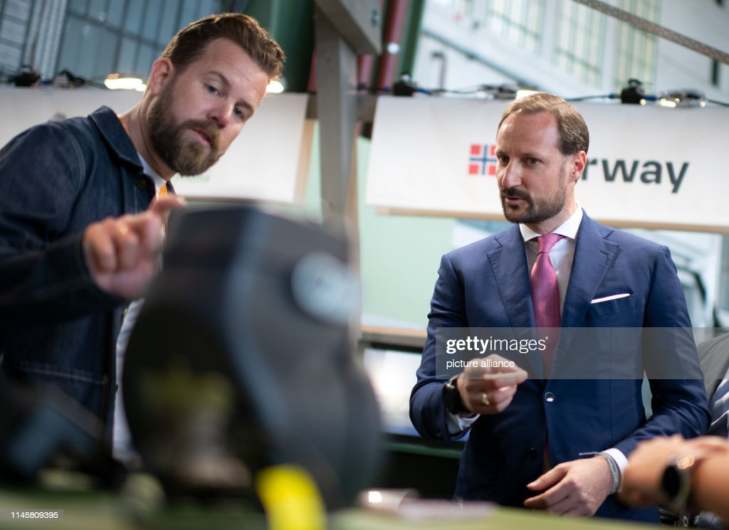 DEU: Crown Prince Haakon Of Norway At Green Tech Festival - Green Leaders Conference