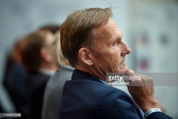 HansJoachim Watzke Managing Director of the Borussia Dortmund football team is taking part in the award ceremony for the German Football Ambassador...