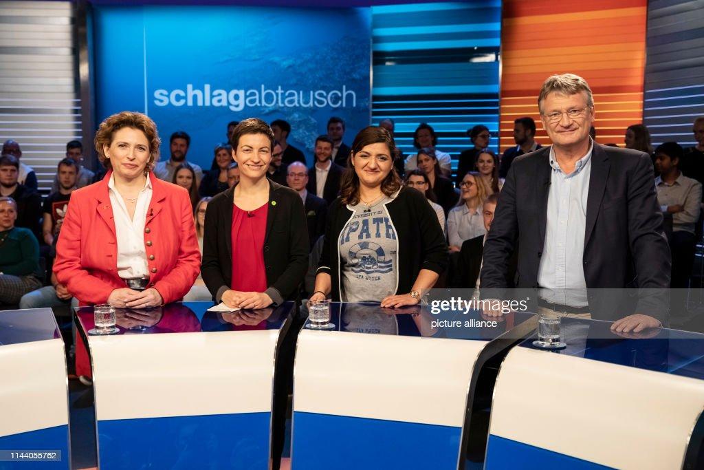 DEU: TV Duel For The European Elections