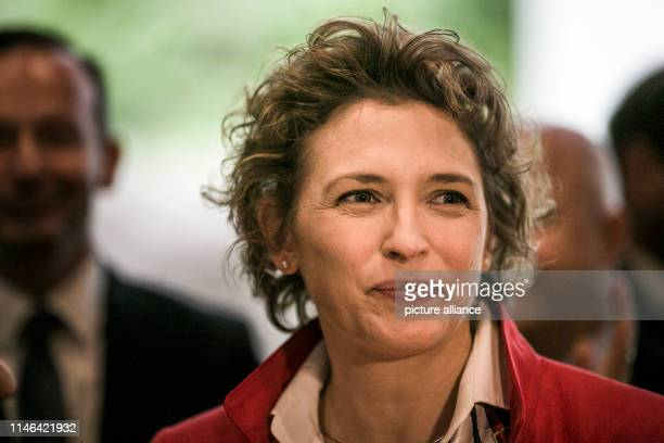 Nicola Beer, the top candidate of the FDP in the European election campaign, appears at the committee meetings. Photo: Carsten Koall/dpa
